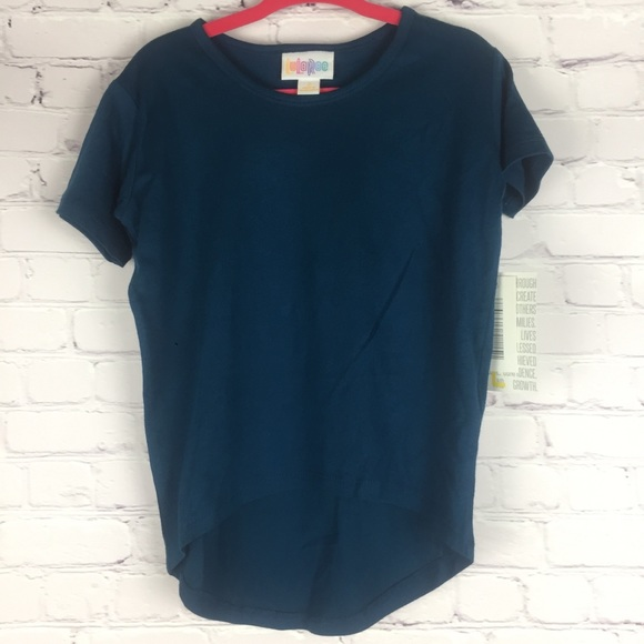 fbdbe8bb8367c LuLaRoe Shirts & Tops | Unisex Gracie Highlow Kids Tunic Dark Teal ...